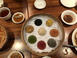 Dim Sum au restaurant Paradise Dinasty - Singapour
