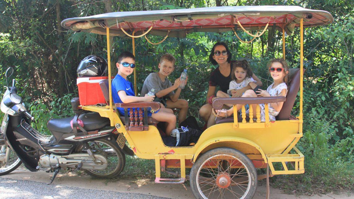 Des cousins au Cambodge !