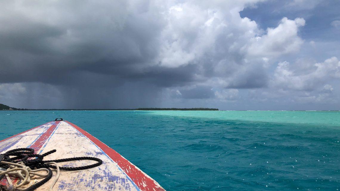 Maupiti, Ile sous le vent