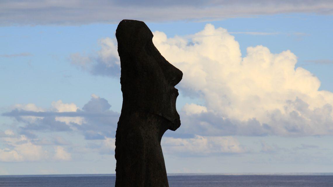 Les fiers moaï de l'île de Pâques
